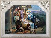 stock photo of magi  - Nativity Scene - JPG