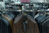 Men Clothes, Row Of Shirts On The Racks, Shopping poster