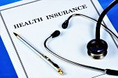 Medical Insurance Of Human Health.medical Insurance Provides Financial Well-being Covers Part Of The poster