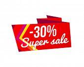 Sale banner template design, Big sale special offer. Hot sale, mega sale. illustration. poster