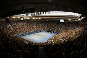 MELBOURNE,  VC - JANUARY 23: A General view of the interior of Rod Laver Arena during the 2013 Austr