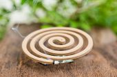 image of mosquito repellent  - Burning mosquito coil for Insect repellent and mosquito - JPG