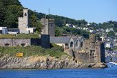 pic of dartmouth  - Dartmouth castle by the River Dart - JPG