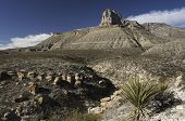 foto of guadalupe  - Guadalupe Mountains National Park is located in West Texas - JPG