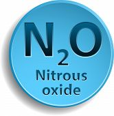 pic of oxidation  - Blue button with nitrous oxide - JPG