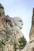 pic of mount rushmore national memorial  - Presidents of Mount Rushmore National Monument South Dakota USA - JPG