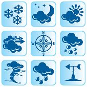 Icons Weather poster