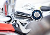 pic of adjustable-spanner  - Kitchen sink - JPG
