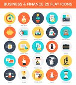 pic of payment methods  - Abstract vector collection of colorful flat business and finance icons - JPG