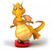 image of dragon head  - Fun dragon - JPG