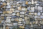 stock photo of stonewalled  - grunge stonewall - JPG