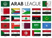 picture of arabic  - Arab League Arab member countries - JPG