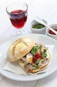 pic of tripe  - lampredotto sandwich - JPG