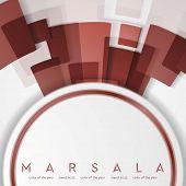 pic of marsala  - Trendy color marsala 2015 - JPG