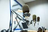 stock photo of recording studio  - technology - JPG