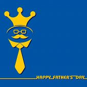 picture of special day  - Stylish  Happy Father - JPG