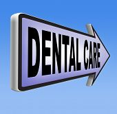 picture of health center  - dental care center oral hygiene or surgery health insurance for healthy teeth without caries but with a beautiful smile with text