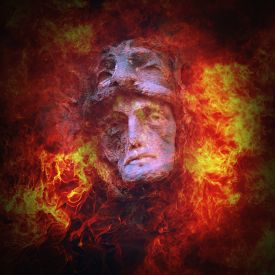 stock photo of hade  - Hades God is the kingdom of the dead  - JPG