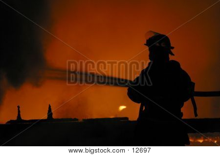 Firefighter poster