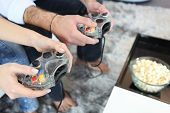 pic of video game controller  - Video Game Controllers - JPG