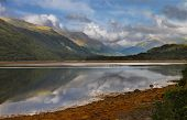 stock photo of bute  - Loch Etive in Argyll and Bute Scotland - JPG
