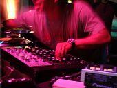 Live DJ poster