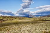 picture of lamar  - Lamar Valley in Yellowstone National Park Wyoming - JPG