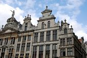 Historical Building On The Grand Place In Brussels poster