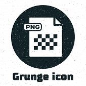 Grunge Png File Document. Download Png Button Icon Isolated On White Background. Png File Symbol. Ve poster
