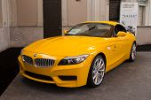 JACKSONVILLE, FLORIDA-FEBRUARY 18: A 2012 BMW Z4 sDrive35is at the Jacksonville Car Show on February