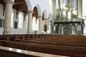 The Interior Of The Church. Netherlands, Delft