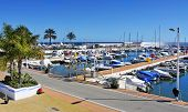 MARBELLA, SPAIN - MARCH 13: A view of Puerto Deportivo de Marbella on March 13, 2012 in Marbella, Sp
