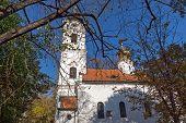 Orthodox Nikolas Church In City Of Novi Sad, Vojvodina, Serbia poster