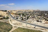 stock photo of jericho  - Aerial View of Jericho - JPG