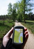 foto of rune  - Outdoor Navigation with a handheld GPS while runing - JPG