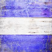 image of juliet  - Juliet international maritime signal flag painted on grungy wood plank background - JPG