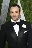 WEST HOLLYWOOD, CA - FEB 24: Tom Ford at the Vanity Fair Oscar Party at Sunset Tower on February 24,