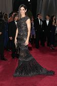 LOS ANGELES - 24 februari: Sandra Bullock arriveert in de 85e Academy Awards, de Oscars presenteert op th