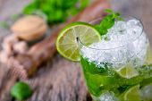 pic of mojito  - Fresh mojito drink - JPG