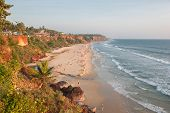 Varkala Beach, Kerala, India