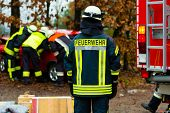 picture of fire brigade  - Accident  - JPG