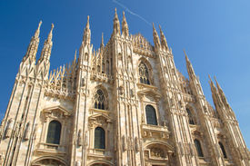 picture of domme  - Milan Cathedral  - JPG