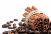 pic of cinnamon  - Coffee and  cinnamon white - JPG