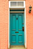 Old Colonial Door In Frederick, Maryland poster