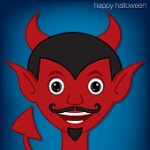 image of lucifer  - Lucifer devil cartoon character in vector format - JPG