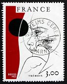 Postage Stamp France 1977 Head And Eagle, Tremois