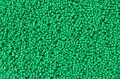 foto of thermoplastics  - industrial plastic granules background - JPG