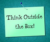 foto of understanding  - Think Outside Box Meaning Original Unique And Understand - JPG