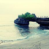 stock photo of tanah  - Tanah Lot Bali - JPG