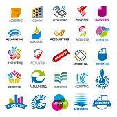 foto of accounting  - biggest collection of vector icons accounting report - JPG